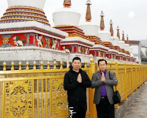 雪游塔尔寺:感受佛教圣地别样的魅力