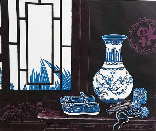 沈春霞:用版画艺术描绘中国新时代